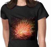Firework- work of fire Womens Fitted T-Shirt