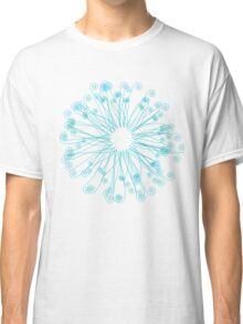 Fiddlehead Star in Blue-Green Classic T-Shirt