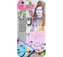 Vaporwave Seapunk - God bless the internet iPhone Case/Skin