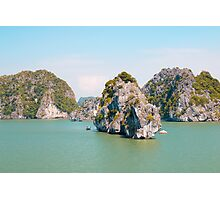 Bai Tu Long Bay in Halong Bay Vietnam Photographic Print