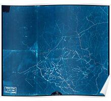 Civil War Maps 2052 Map of portions of Orange Louisa Spotsylvania and Culpeper counties Virginia Inverted Poster