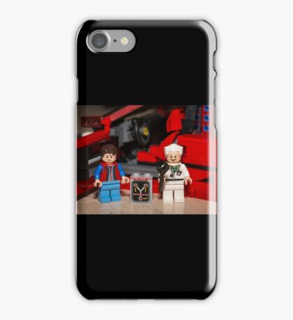Flux Capacitor goes where? iPhone Case/Skin
