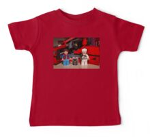Flux Capacitor goes where? Baby Tee