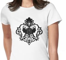 Detective's Damask Womens Fitted T-Shirt