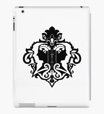 Detective's Damask iPad Case/Skin