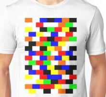 Colorful Block Tile Pattern Unisex T-Shirt