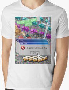 Vaporwave Seapunk much cool Mens V-Neck T-Shirt