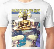 Vaporwave Seapunk Buddha is the reason Unisex T-Shirt