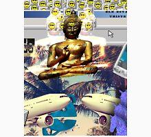 Vaporwave Seapunk Buddha is the reason Unisex T-Shirt