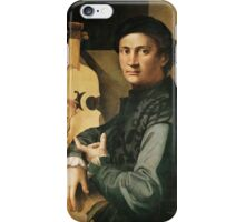 Paolo Dzakkia (Dzakkia di Antonio da Vezzano) (documented in Lucca -) - Cellist iPhone Case/Skin