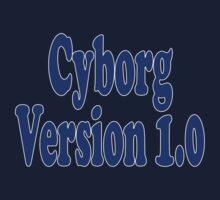 Cyborg Version 1 - Android T-Shirt Sticker Kids Tee