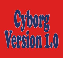 Cyborg Version 1 - Android T-Shirt Sticker Baby Tee