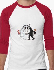 spy vs spy Men's Baseball ¾ T-Shirt
