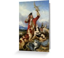 Richard Ansdell - Hunting scenes Greeting Card