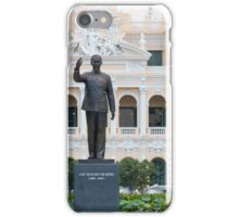 Statue of Ho Chi Minh in Saigon Vietnam iPhone Case/Skin