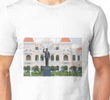 Statue of Ho Chi Minh in Saigon Vietnam Unisex T-Shirt