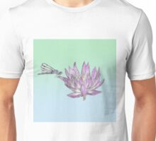 Dragonfly Lily Unisex T-Shirt