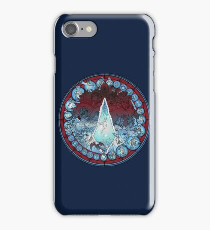 Final Fantasy XIV Stained Glass iPhone Case/Skin