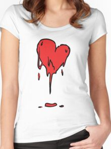 Too Much Passion Women's Fitted Scoop T-Shirt