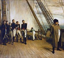 Sir William Quiller Orchardson - Napoleon on Board the Bellerophon  by Adam Asar