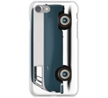 1949 Volkswagen Type 2 Prototype - Navy Blau iPhone Case/Skin