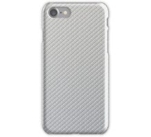 Silver Cardboard Texture iPhone Case/Skin