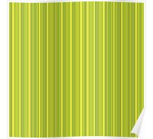 Vertical stripes eco colors pattern Poster