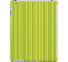 Vertical stripes eco colors pattern iPad Case/Skin