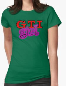 GTI Girl Womens Fitted T-Shirt