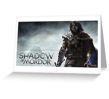 Shadow Of Mordor Greeting Card