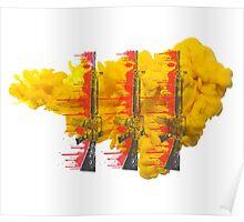 Proud Guns - Yellow Die Drop Gamer Poster