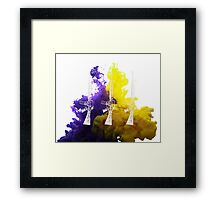 Proud Guns - Multi White Gamer Framed Print
