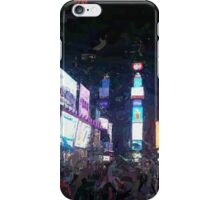 Times Square (2) iPhone Case/Skin