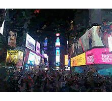 Times Square (2) Photographic Print