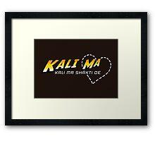 Kali Ma Framed Print
