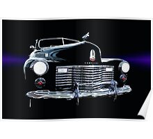 1941 Cadillac Series 62 Convertible Coupe Poster