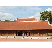 Temple of Literature Hanoi Vietnam Photographic Print