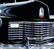 1941 Cadillac Series 62 Convertible Coupe Sticker