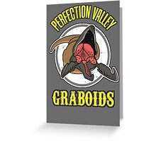 Perfection Valley Graboids Greeting Card