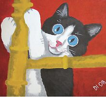 Big Eyed Kitten by dianedyalpaints