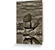 Watson Lake Prescott Arizona Greeting Card