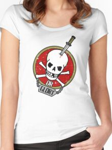 Death or Glory Women's Fitted Scoop T-Shirt