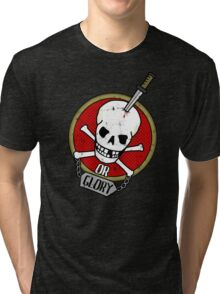 Death or Glory Tri-blend T-Shirt