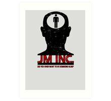 JM Inc. from Being John Malkovich Art Print