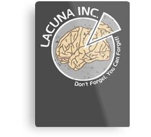 Lacuna Inc. logo from Eternal Sunshine of the Spotless Mind Metal Print