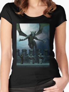 Dragon! Women's Fitted Scoop T-Shirt