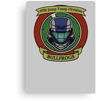 The Bullfrogs Insignia Canvas Print