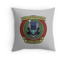 The Bullfrogs Insignia Throw Pillow