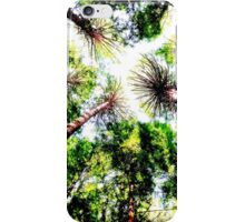 Redwood Forest - Edited iPhone Case/Skin