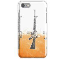 Proud Guns - Orange Gamer iPhone Case/Skin